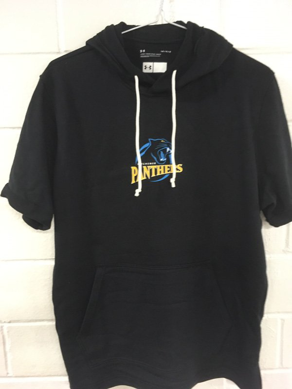 Panthers Pre-Game Fleece SS Hoodie