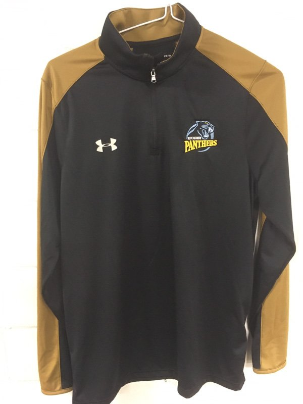 Panthers Jersey Pullover with Gold