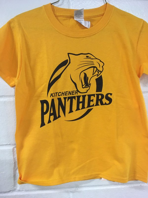 Panthers Youth Gold T-Shirt