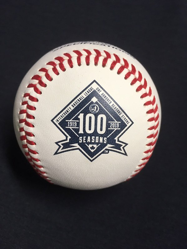 Official IBL 100th Baseball